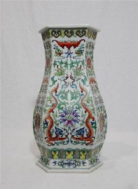 Chinese Dou-Cai porcelain vase