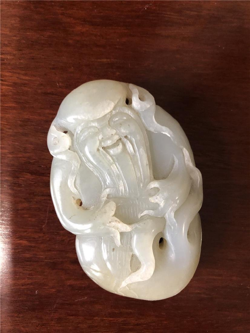 A fine Chinese Jade engraved with old man