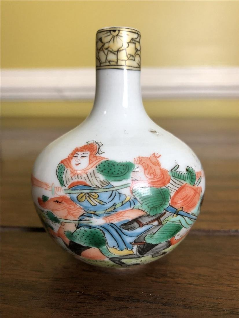 Chinese Porcelain snuff bottle - 2