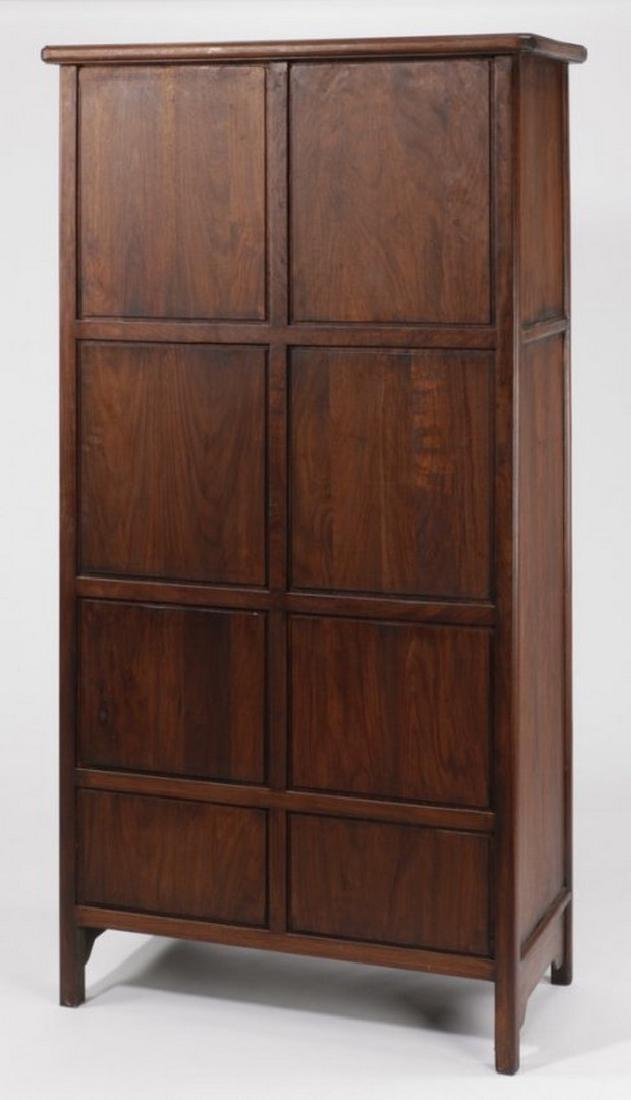 """Chinese wooden compound cabinet, 70""""h - 2"""