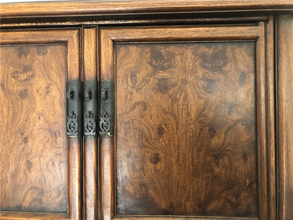 """Chinese wooden compound cabinet, 70""""h - 5"""