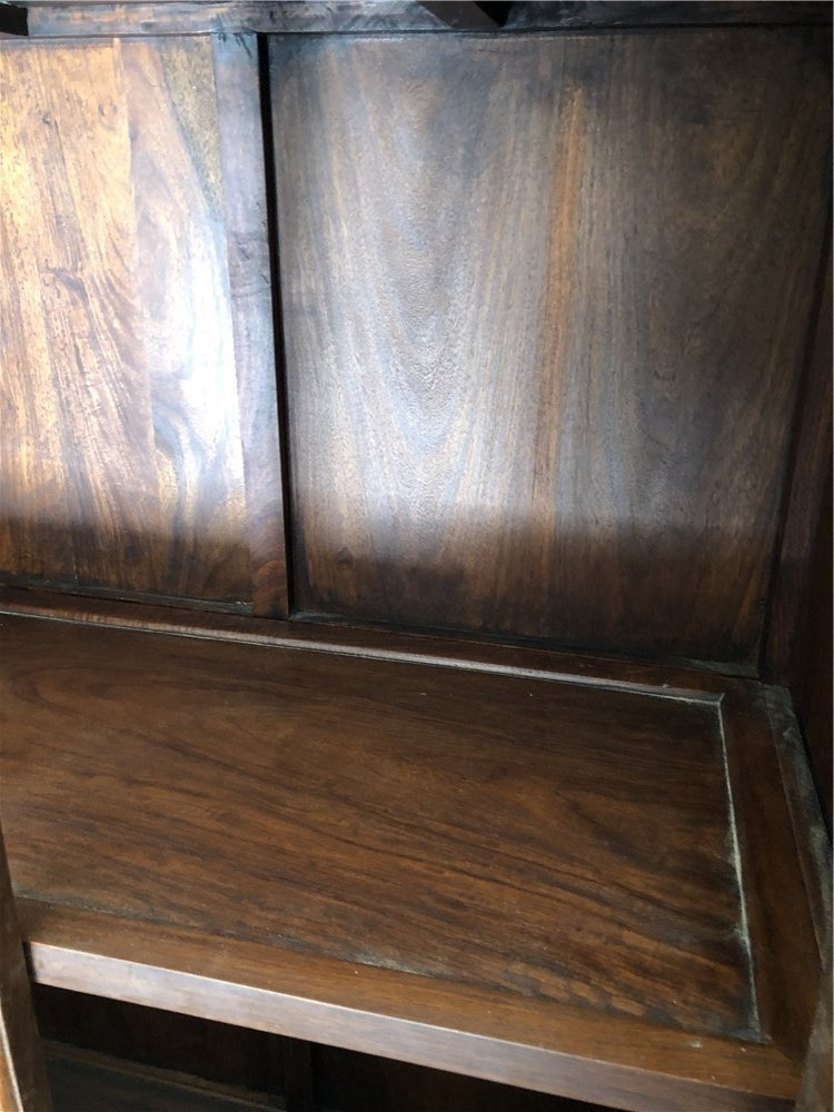 """Chinese wooden compound cabinet, 70""""h - 7"""