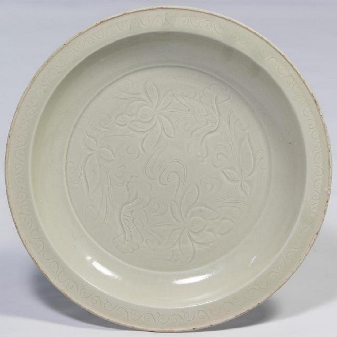 Chinese Ting Ware Plate