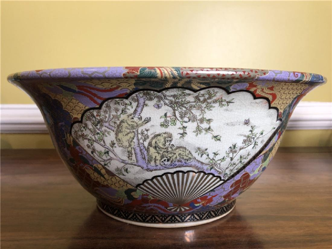 A Fine Large Japanese bowl Dia 14 1/2inches