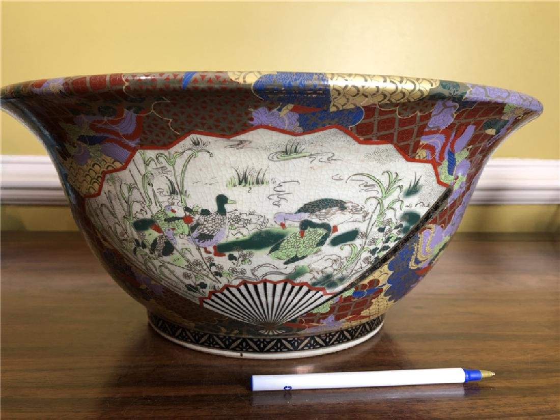 A Fine Large Japanese bowl Dia 14 1/2inches - 4