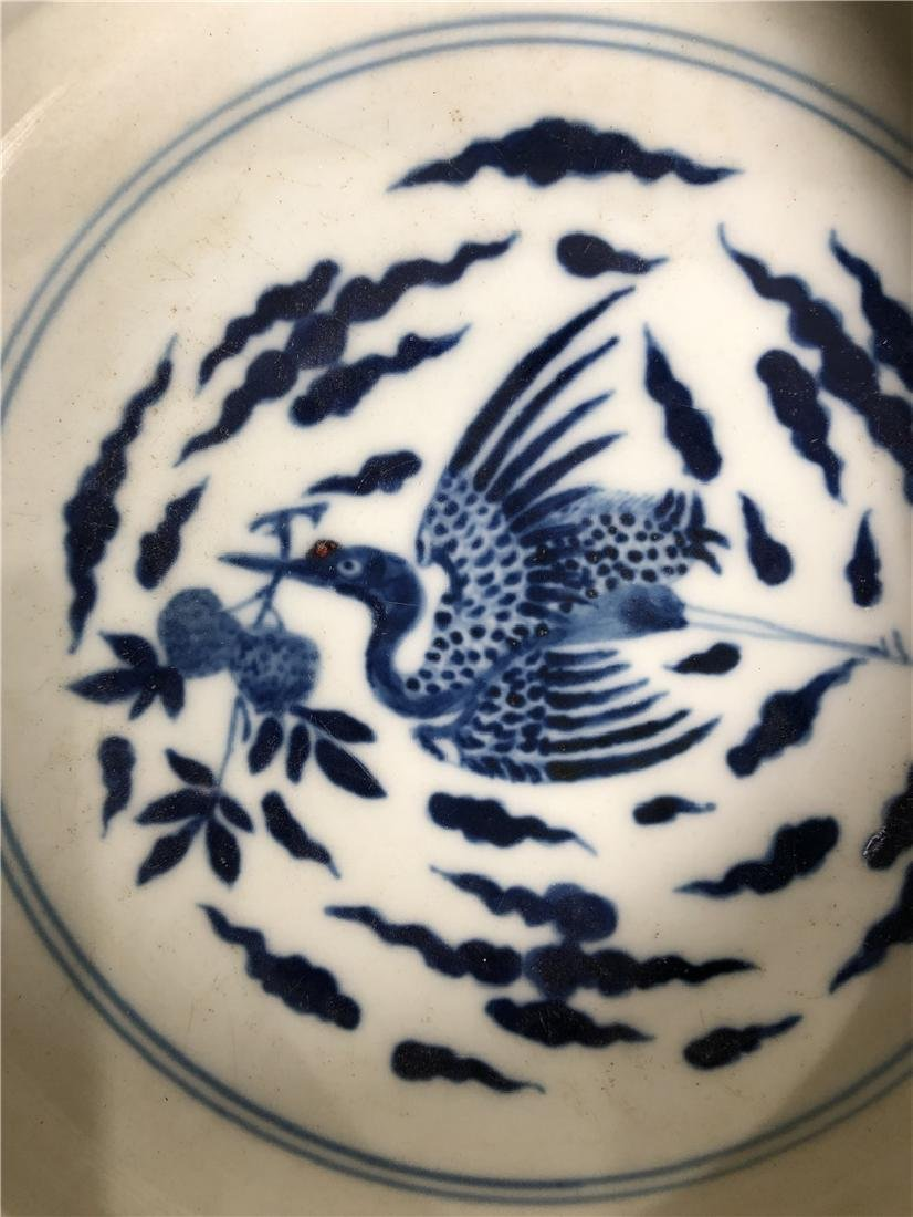 A Fine Chinese Qing Dynasty pen wash pocelain - 3