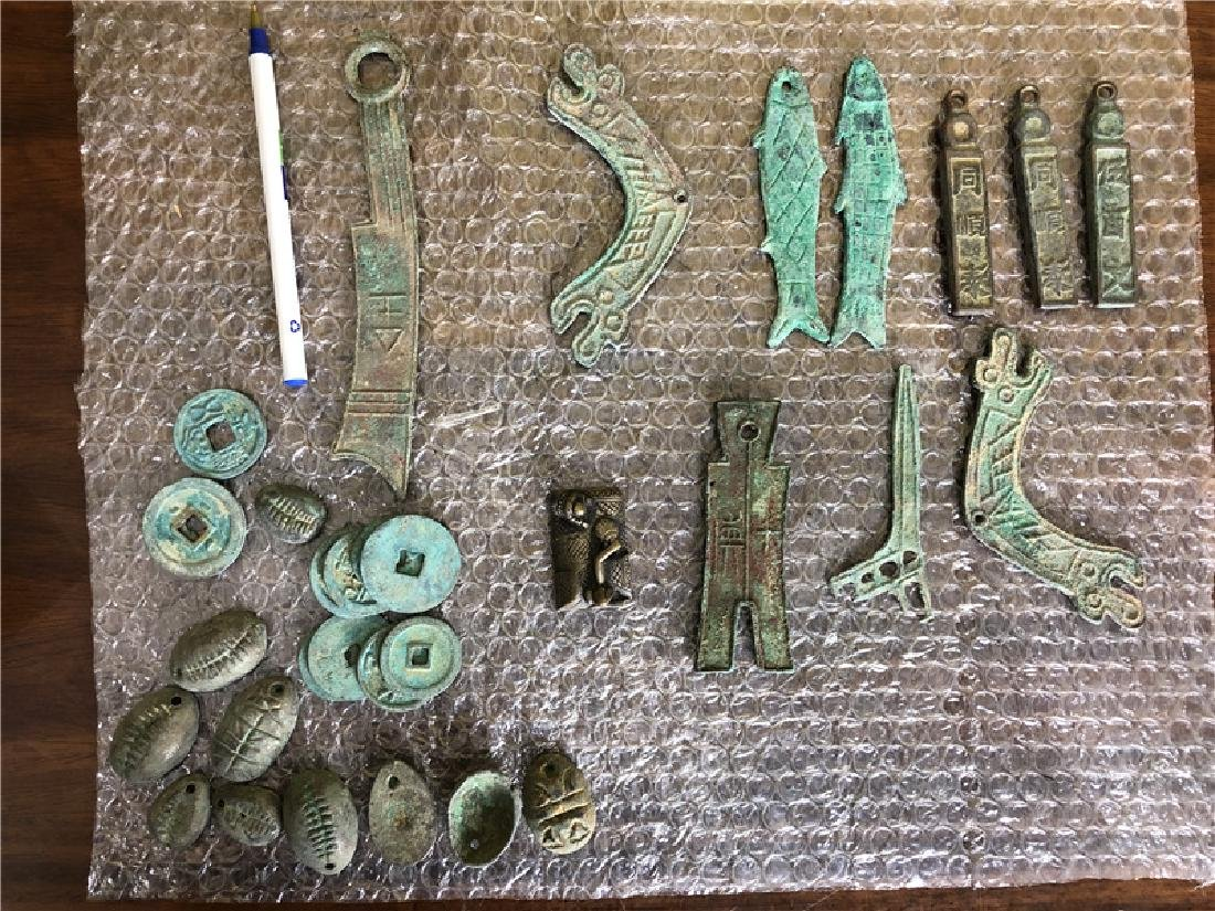 Lots of Chinese ancient coins - 2