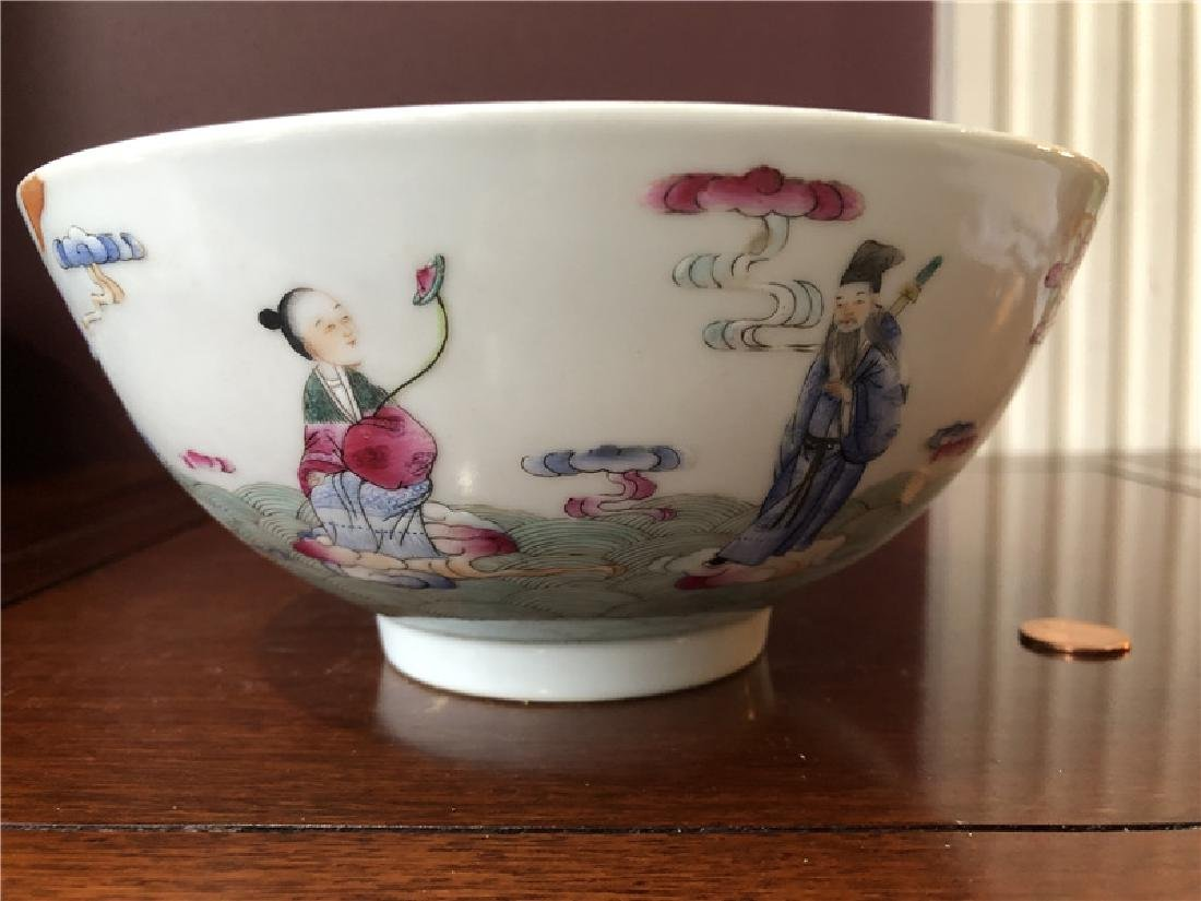 A fine Chinese porcelain bowl with painting