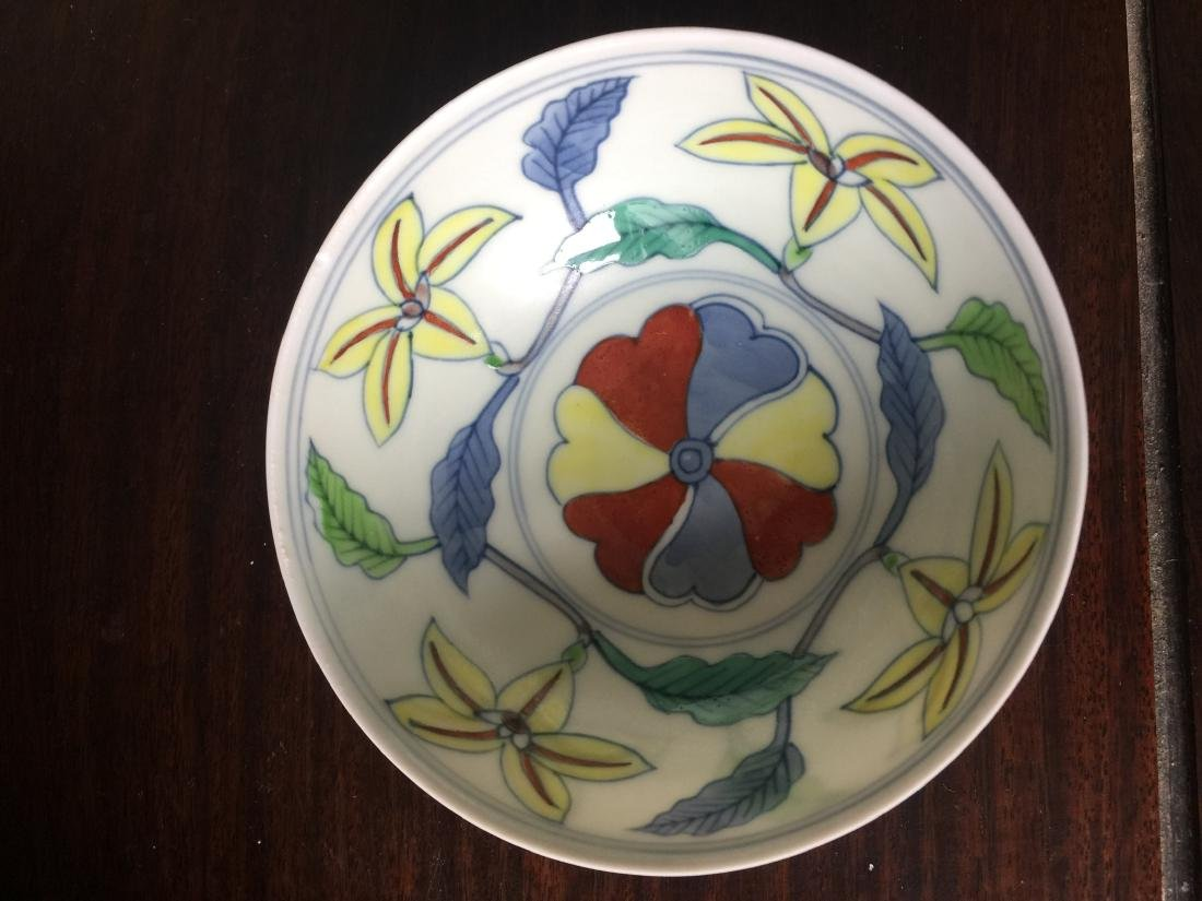 A Chinese white bowl