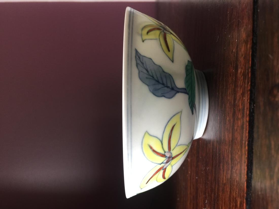 A Chinese white bowl - 2