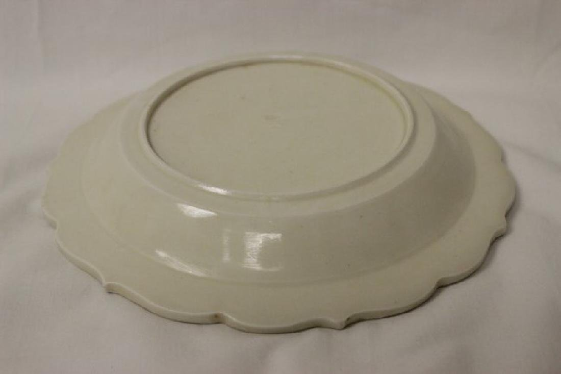 Song style white porcelain plate - 5