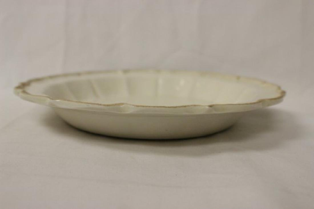Song style white porcelain plate - 6