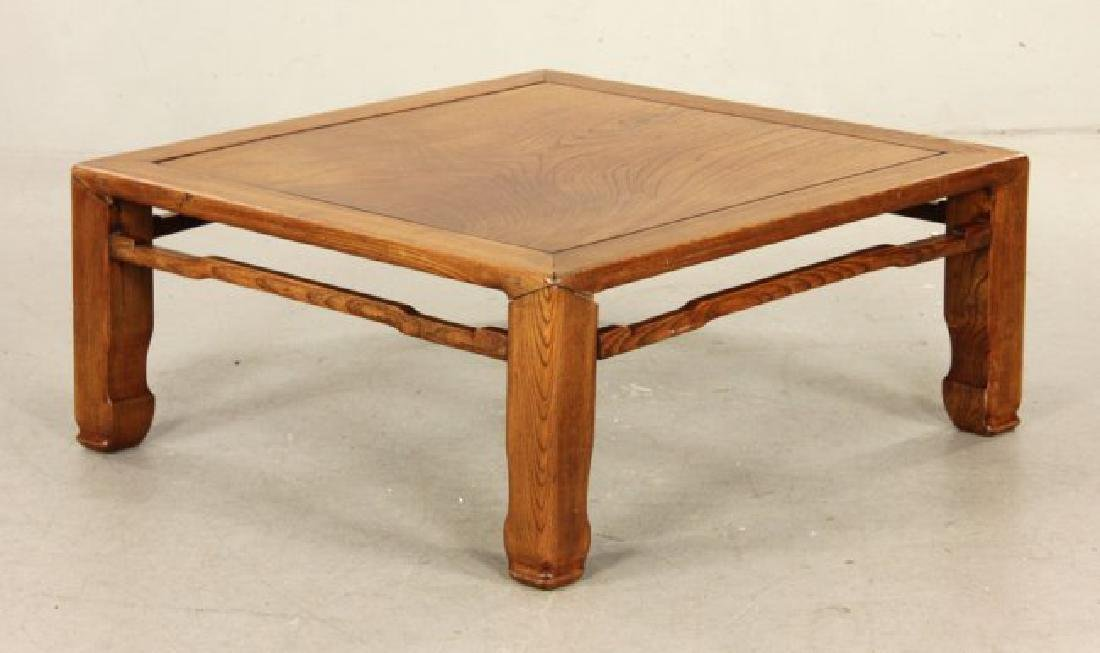 19th C. Chinese Ming Dynasty Low Table , Hardwood may