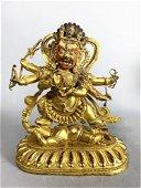 Chinese Ming/Qing Bronze Buddha Figure