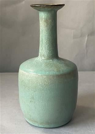 Zhizhui bottle of Ru kiln style in Song Dynasty