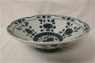 Ming Xuande blue and white porcelain bowl