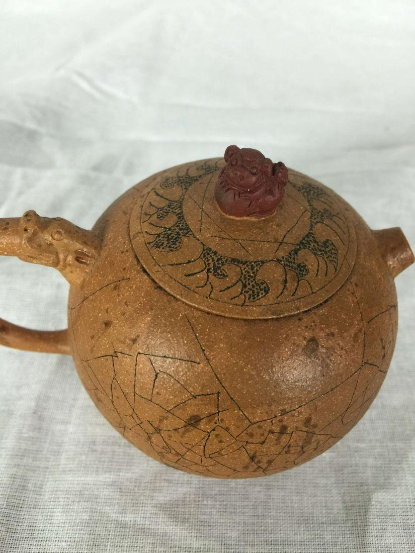Chinese small rare teapot - 3