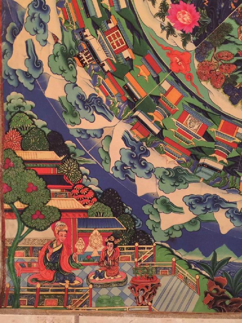 a rare Tangka buddha painting - 3