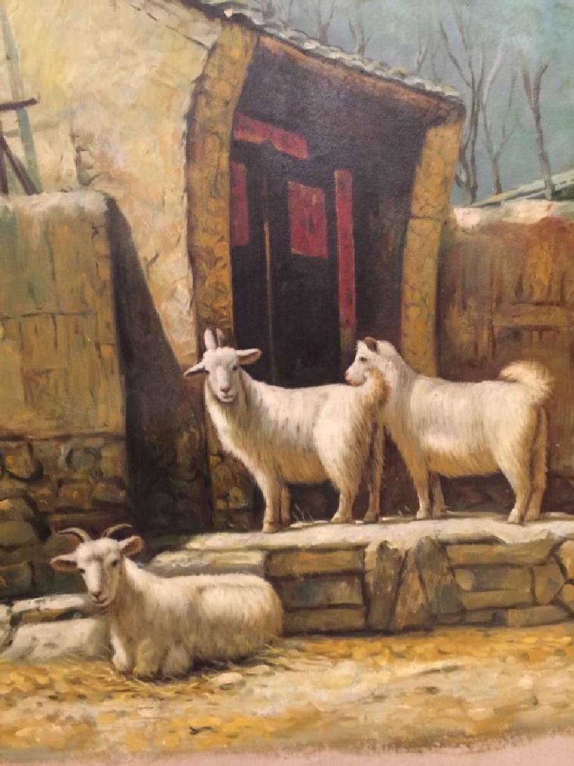 village painting - 2