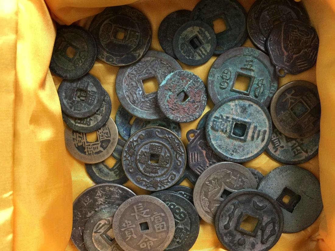 box of ancient coins - 3