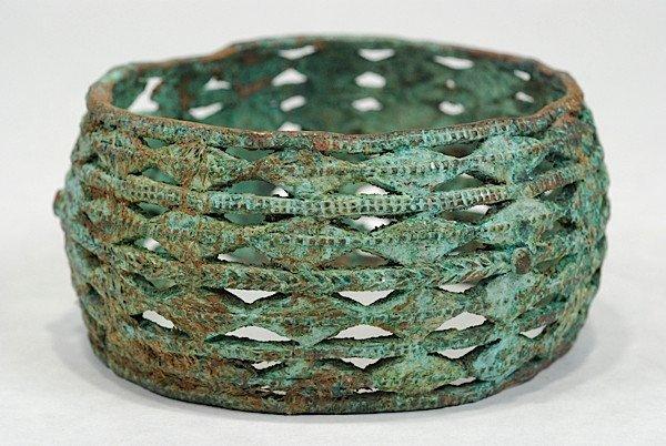 A Pair of Akan Lattice Works Bracelets - 2