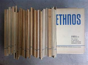 Ethnos Ethnographic Publication, 1936-1959