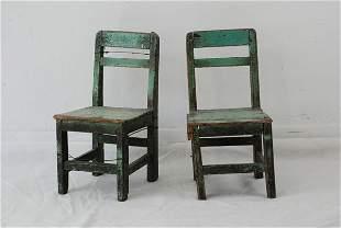 Chinese Children Chairs