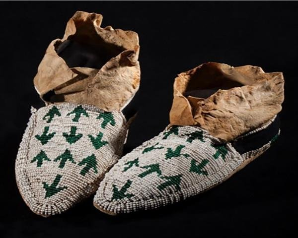 Yakima Pony Beaded Moccasins