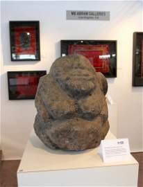 Stone Effigy Rapa Iti, Austral Islands, Ex. Bonham's