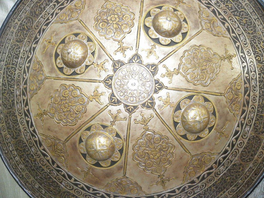 VINTAGE RARE TURKISH  SHIELD ARABIC WRITING - 4