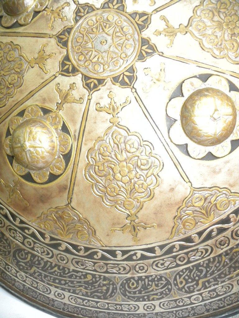 VINTAGE RARE TURKISH  SHIELD ARABIC WRITING - 8