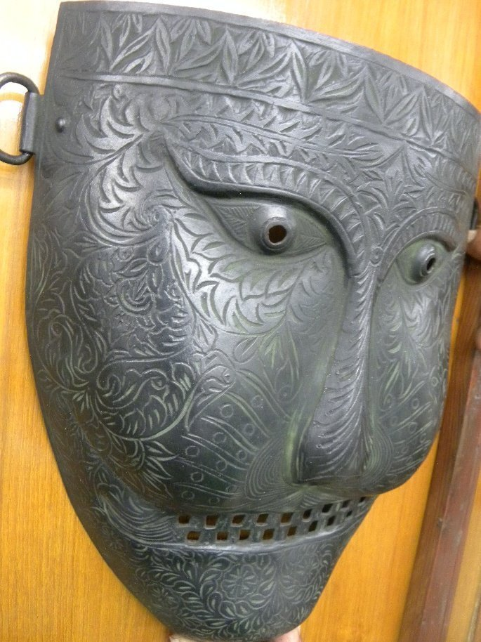 PERSIAN WARRIOR FACE MASK UNUSUAL