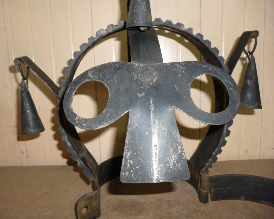 BRANK SCOLDS BRIDLE SHAME HELMET STEEL TORTURE SLAVES - 10
