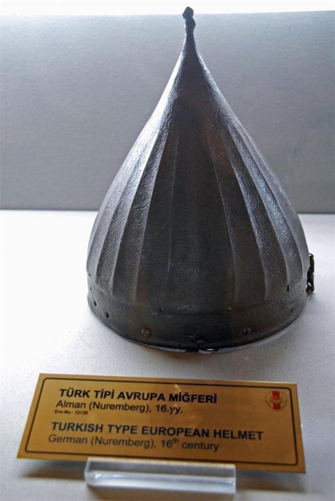 VINTAGE TURKISH TYPE EUROPEAN HELMET