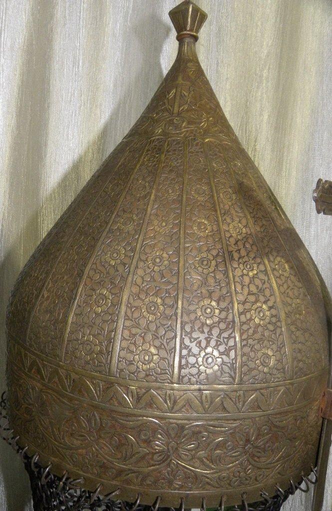 19TH.C TURKISH TYPE EUROPEAN HELMET DOCUMENTED CATALOG - 2