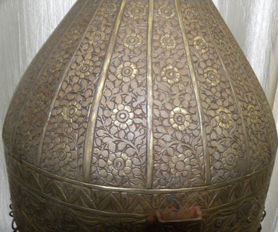19TH.C TURKISH TYPE EUROPEAN HELMET DOCUMENTED CATALOG - 5