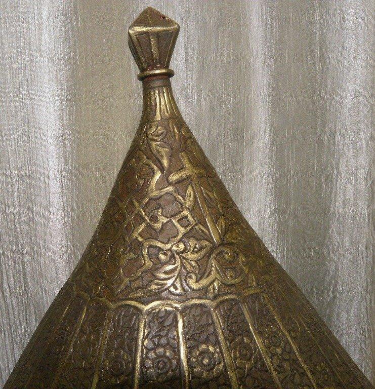 19TH.C TURKISH TYPE EUROPEAN HELMET DOCUMENTED CATALOG - 6