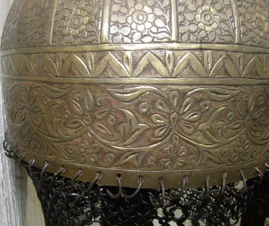 19TH.C TURKISH TYPE EUROPEAN HELMET DOCUMENTED CATALOG - 7