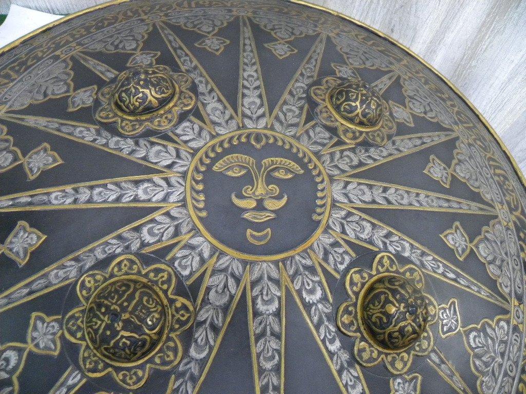 SHIELD MILITERY WARRIOR  PERSIAN SUN  RAYS CALLIGRAPHY - 7