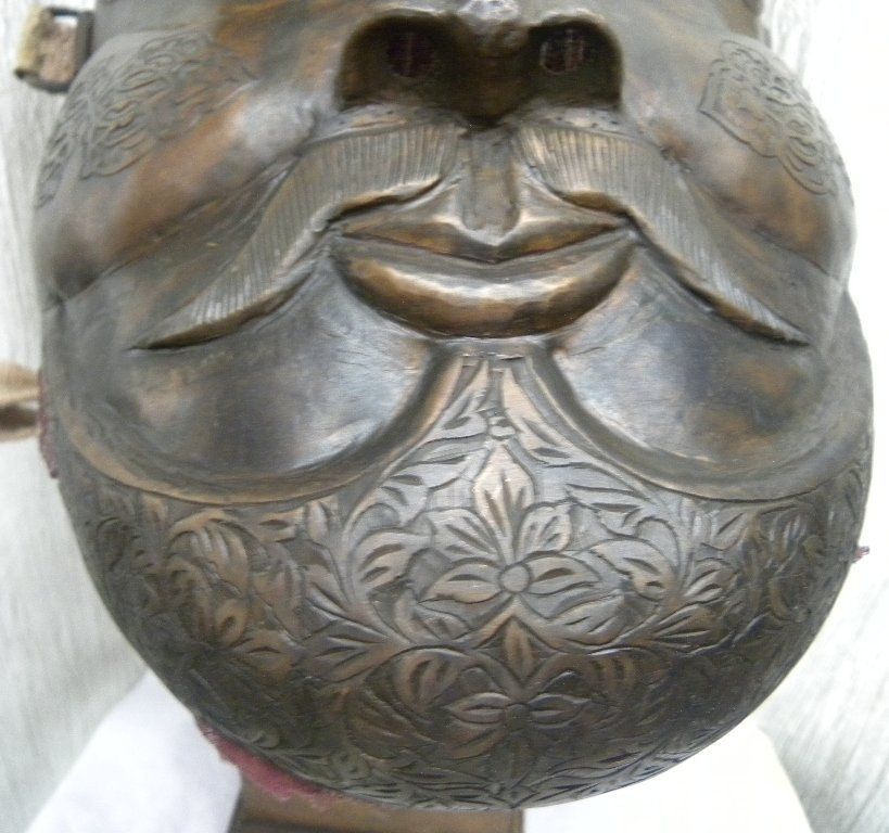 MILITERY FACE MASK WARRIOR  HALF MOON & ARABIC ETCHED - 5