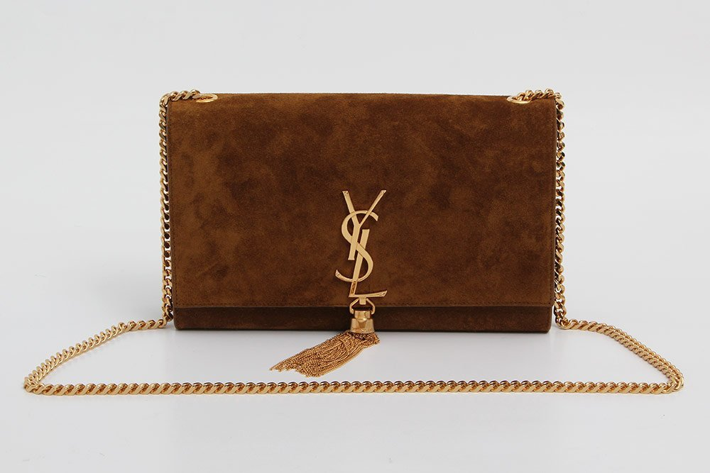 "SAINT LAURENT modische Umhängetasche ""KATE MONOGRAM"