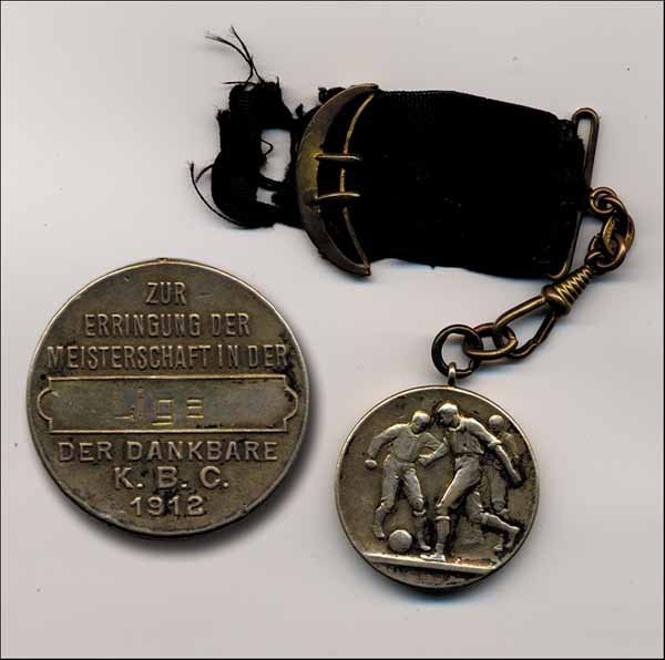 7005: Football Championsmedal 1912 - 1.FC Cologne