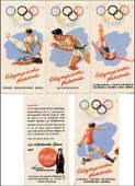 7747: Olympic Games 1952. Coca-Cola Helsinki 1952