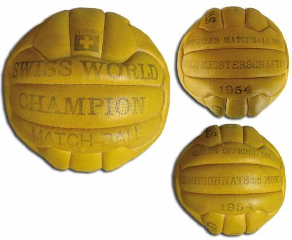 1009: World Cup 1954. Original Match ball