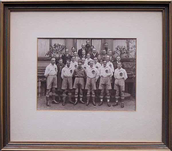 1014: Hertha BSC. Original Teamphoto 1926
