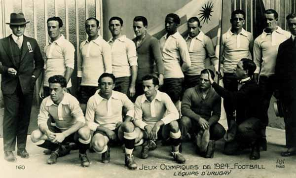 1023: Olympic Games 1924. Postcard Football Uruguay