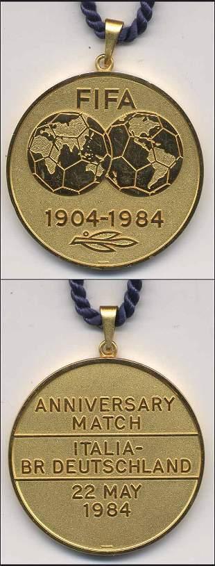 1002: Gold Medal FIFA match 1984 Italy v Germany