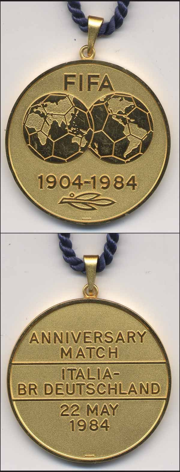 1002: Gold Medal FIFA match 1984 Italy v Germany
