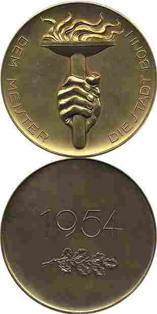 1006: World Cup 1954. German Medal of Honour for player