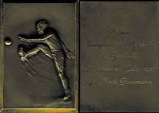 1012: World Cup 1930. Rare Medal from Kurt Gassmann
